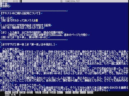 VZ Editor for DOS/V