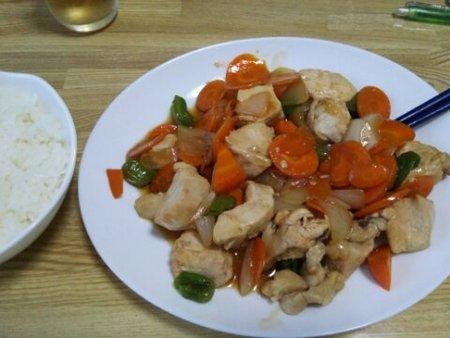 Image: 140817 鶏むね肉とししとうの甘辛炒め [cook]