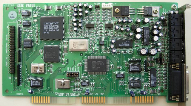 Image: Sound Blaster 16 Value Edition for DOS/V
