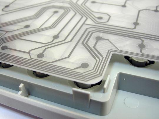 Image: 安物メンブレンキーボードを分解する