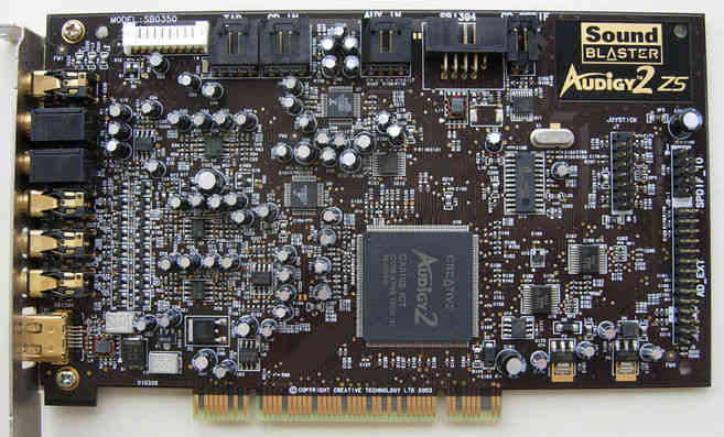 Sound Blaster Audigy 2 ZS (SB0350)