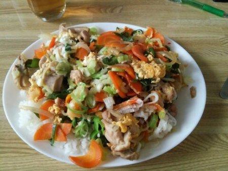 Image: 140826 鶏むね肉の卵とじ [cook]