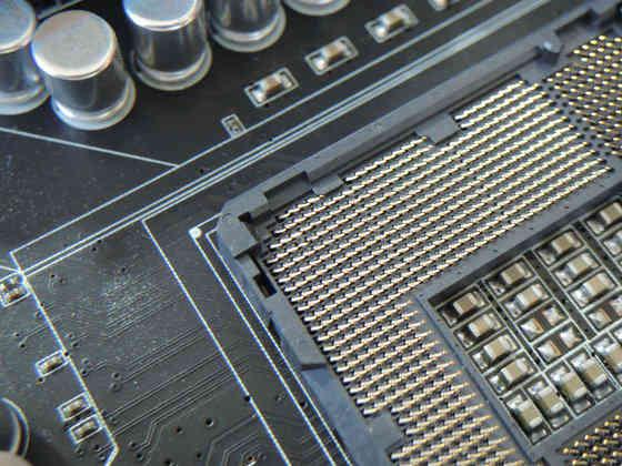 Image: LGA1155 Socket pins