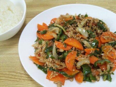 Image: 140831 挽き肉の野菜炒め [cook]