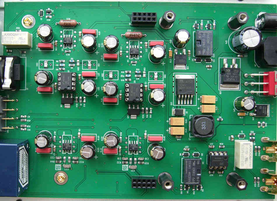iHA-21EX PCB analog block