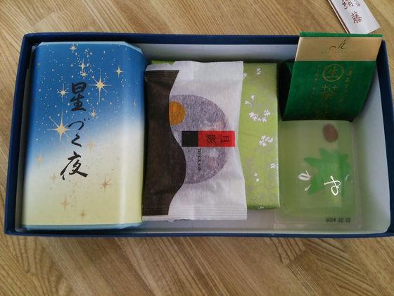 Image: 1408 きれい・鮮やかな京菓子みやげ [diary]