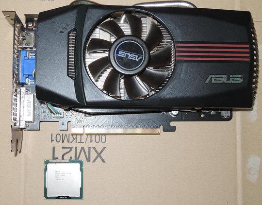 Image: 20131103 Core i3-2100とGTX550Tiを入手