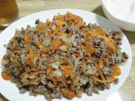Image: 140810 みじん切り野菜と挽き肉炒め [cook]