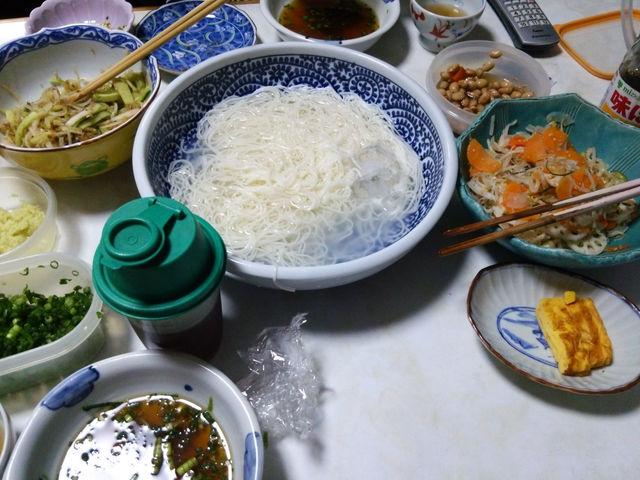 Image: 140813 そうめん 大根ときゅうり浅漬け [cook]