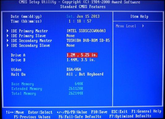 Image: CMOS Setup Utility