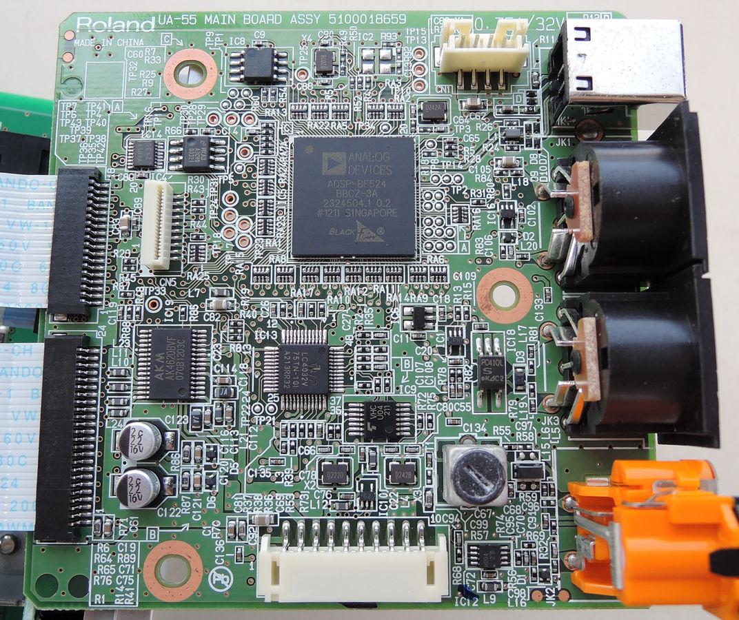 Image: UA-55 PCB (Main Board)