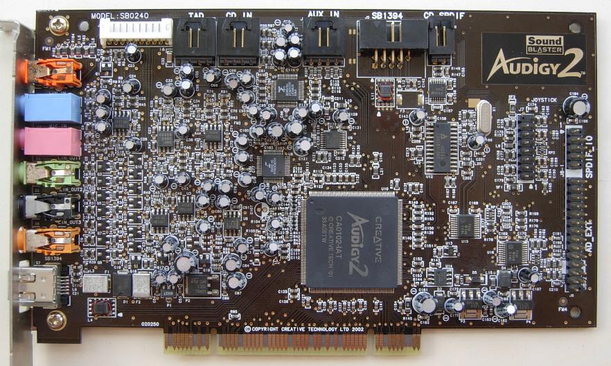 Image: Creative Sound Blaster Audigy 2 (SBAGY2)