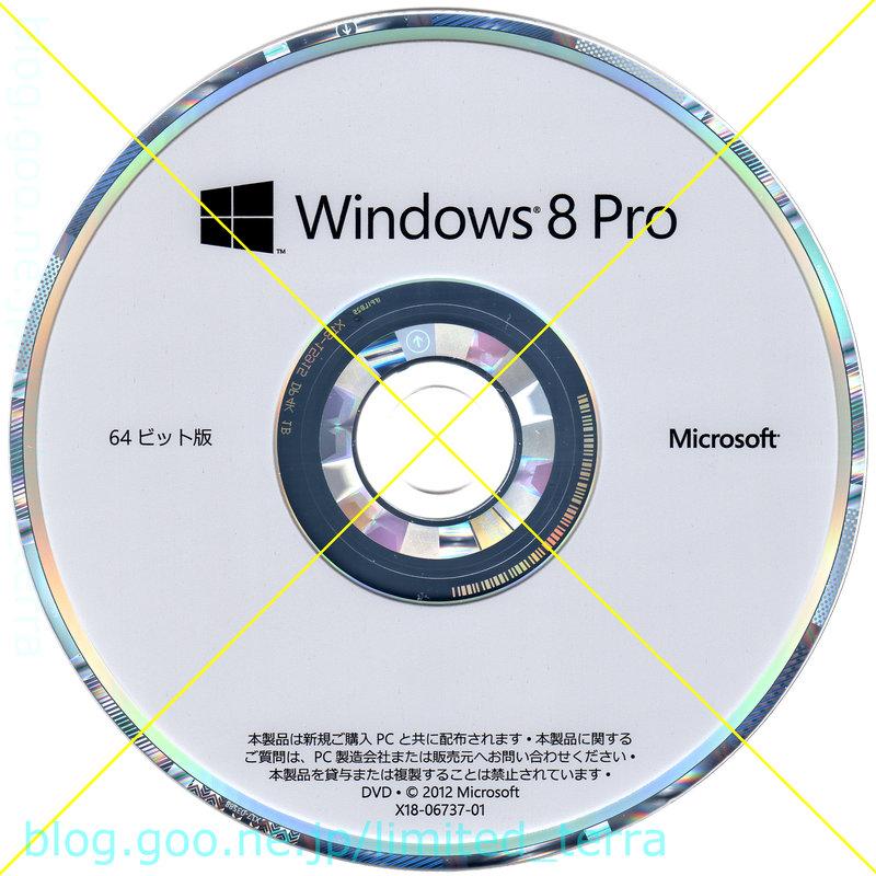 Windows 8 Pro DSP DVD